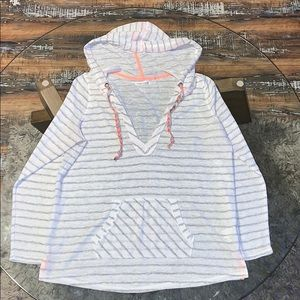 Maurice's hooded long sleeve knit top